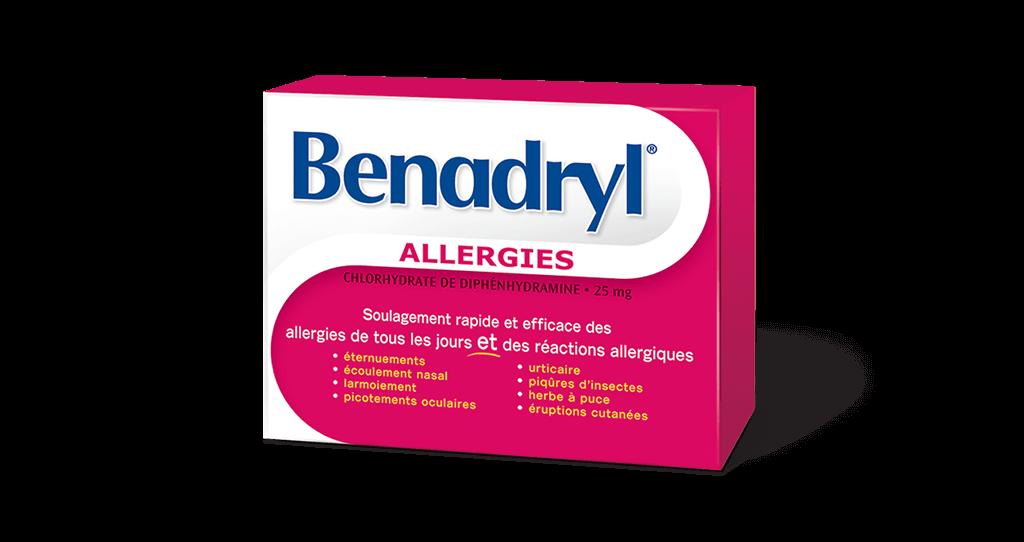 Caplets BENADRYL®