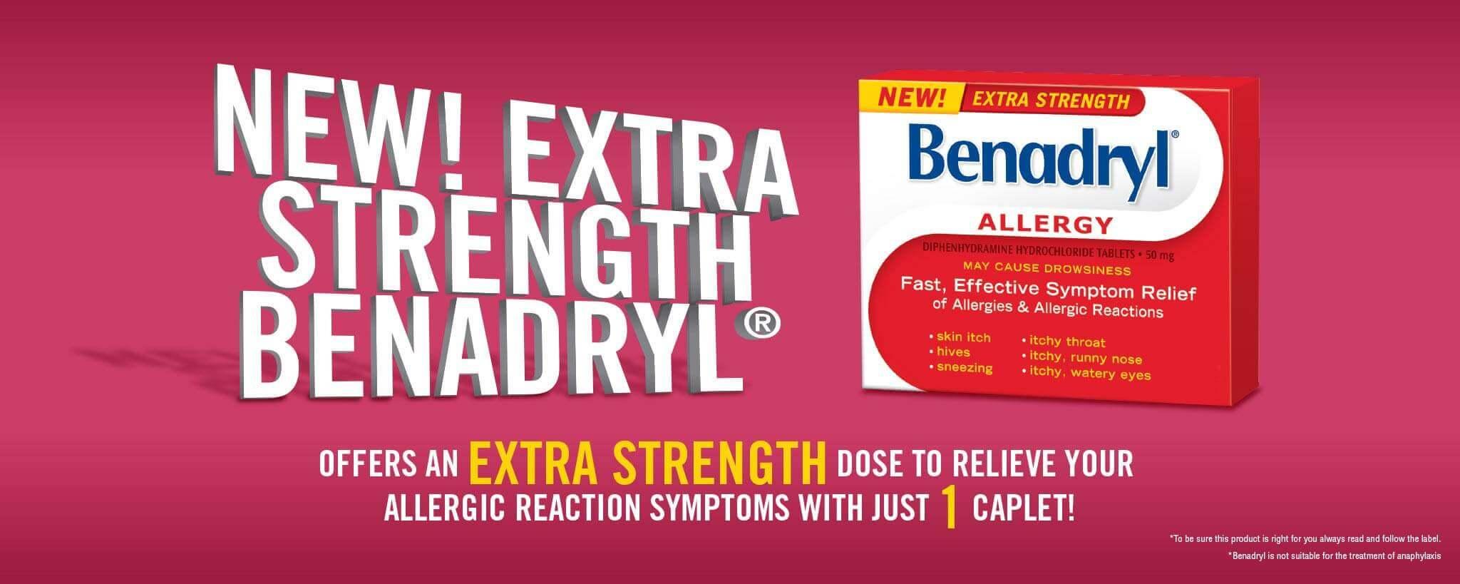 Extra Strength BENADRYL®