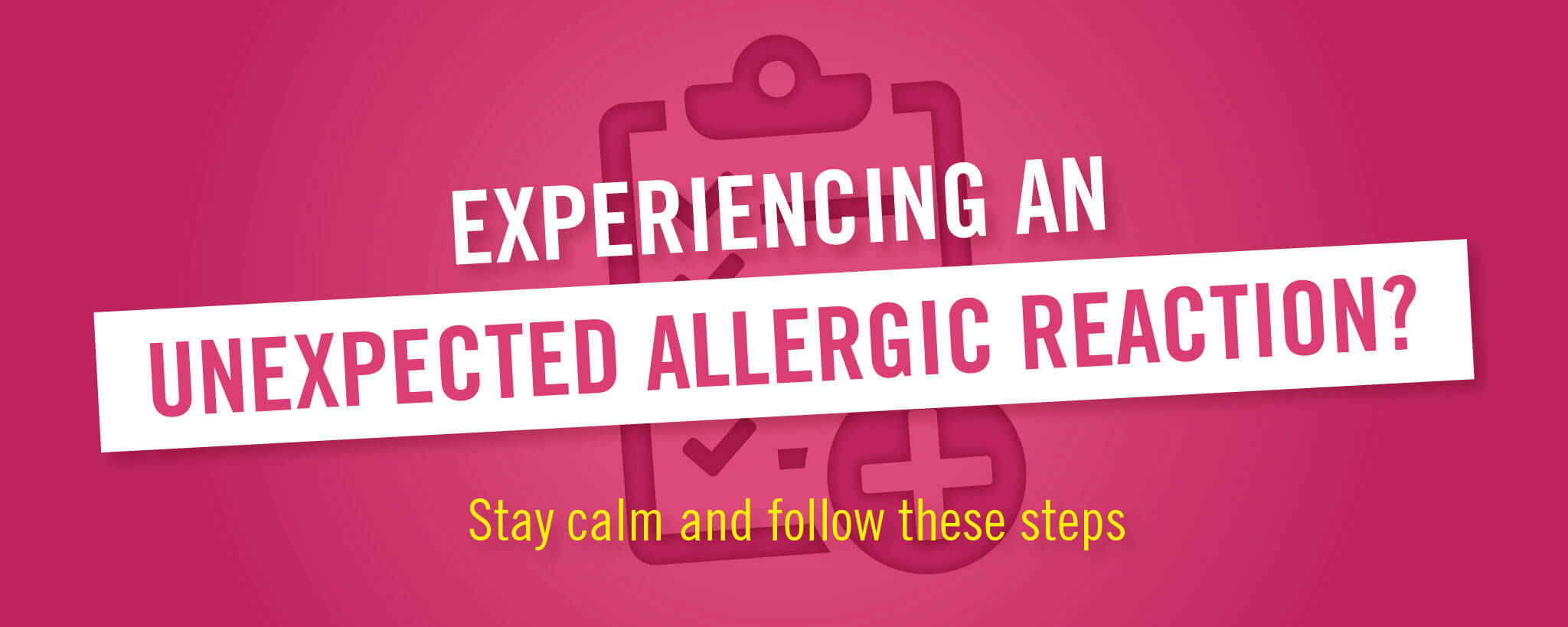 Unexpected Allergic Reaction