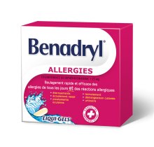 Gélules BENADRYL® LIQUI-GELS®