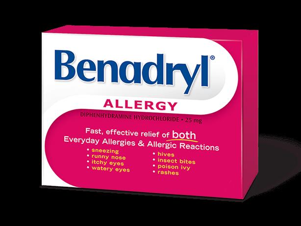 BENADRYL® Caplets