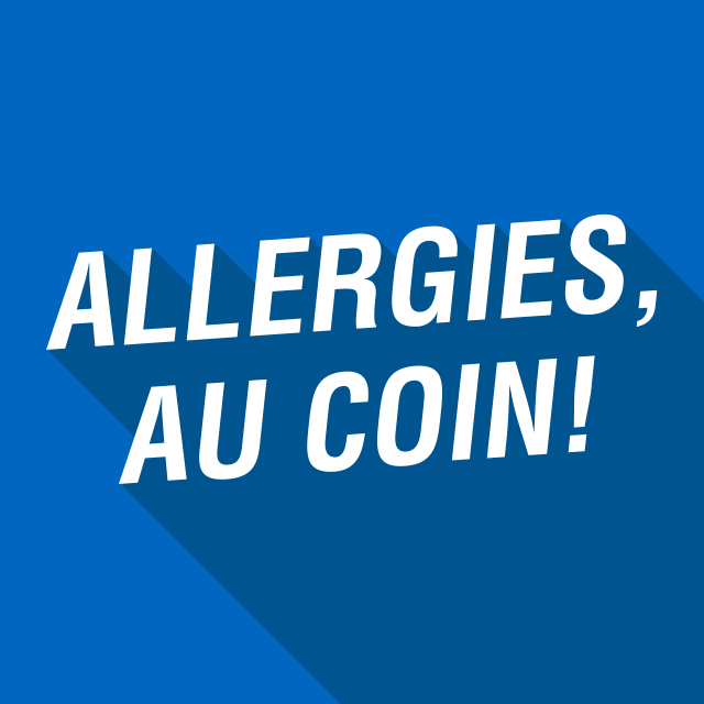 Allergies, au coin!